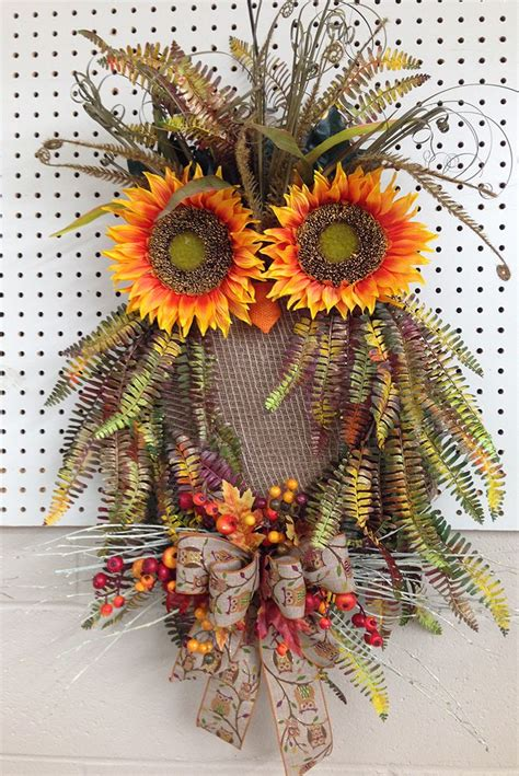 heres  fall owl wreath    talented designers  trees  trendswwwtreesntrends