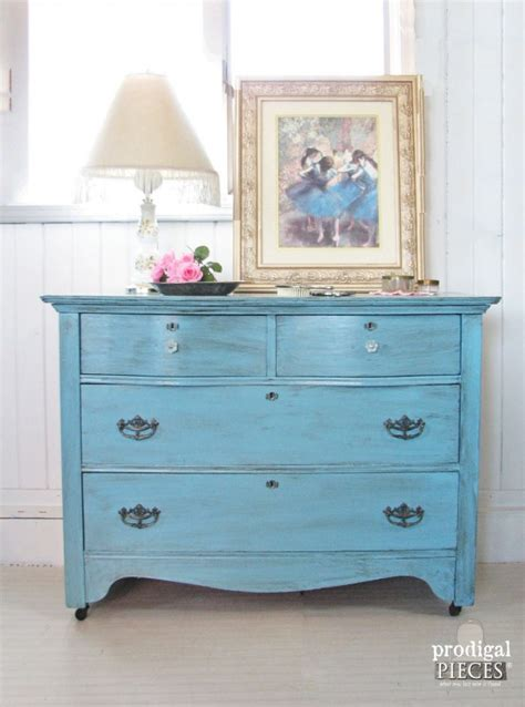 Blue Baby Furniture by Blue For Baby Themed Furniture Makeover Prodigal Pieces