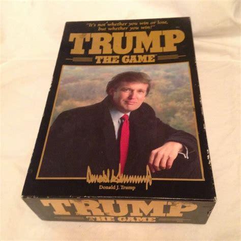 donald trump game trump board game donald trump 1989 milton bradley all