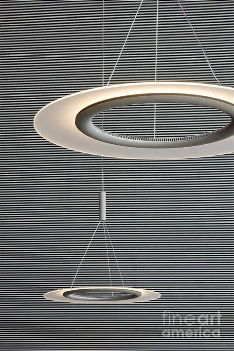 Modern Indoor Lighting Fixtures Circular Modern Interior Lighting Fixtures Photograph By
