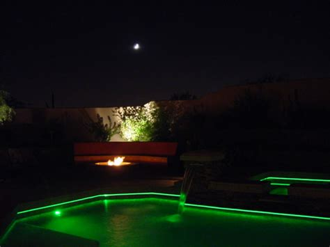 Fiber Optic Pool Lighting by Residential Fiber Optics Gallery From Fiber Creations