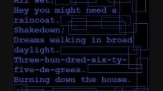 burning down the house lyrics burning down the house lyrics used elyrics net