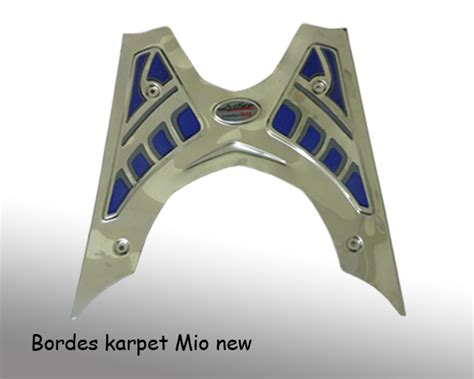 Karpet Bordes Scoopy bordes karpet mio new majumotor