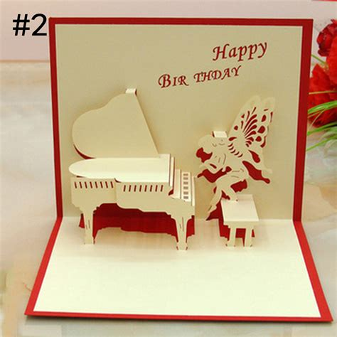 Gift Guide Greeting Cards by Handmade Children Fashion Thank Creative Gift 3d