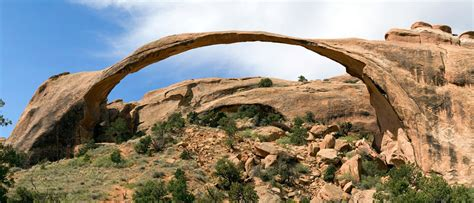 Landscape Arch Size Weekly Science Quiz The Geology Of Arches National Park