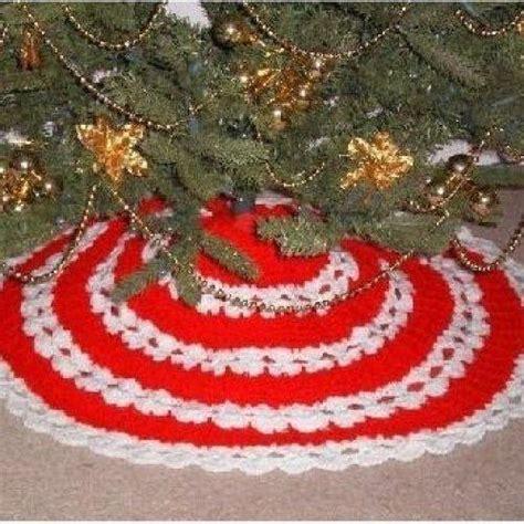 all stitches crochet christmas tree skirt allstitches