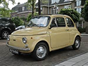 What Does Fiat Stand For 1973 Fiat 500r The R Stands For Rinnovata The Last