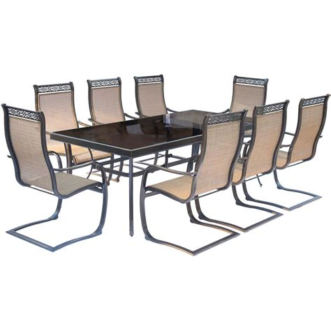 hton bay cabinet lighting rectangular glass patio table 100 images