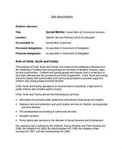 Social Workers Duties And Responsibilities by 13 Description Templates Free Sle Exle Format Free Premium Templates