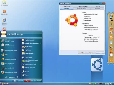 ubuntu full version download free windows xp sp3 style ubuntu 2011 x86 687 mb free