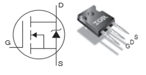 Irfp260n irfp260n mosfet complementary equivalent replacement pinout specs dimension characteristics