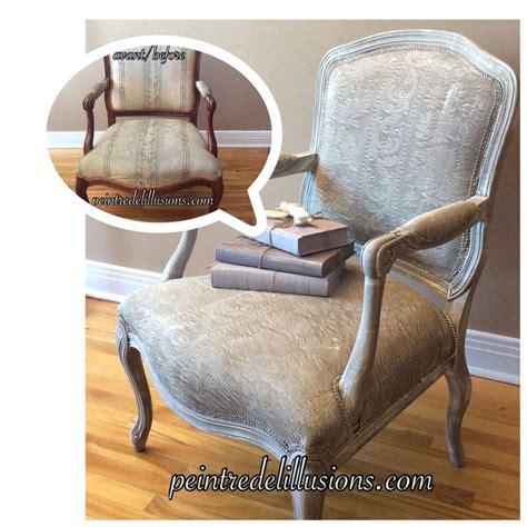 chalk paint folsom chaise et le tissus peint avec la chalk paint d