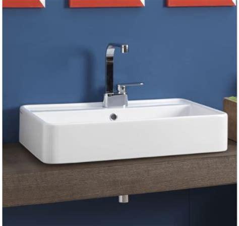 rubinetti per lavabo da appoggio lavabo miniwash 60 da appoggio con piano rubinetteria