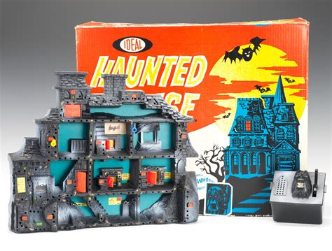 haunted house game vintage ideal haunted house game by ideal circa 1962 complete in box 10 25 13 sold