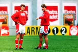 Figure Brian Laudrup Dan002 Denmark bobby and charlton gary and phil neville yaya and