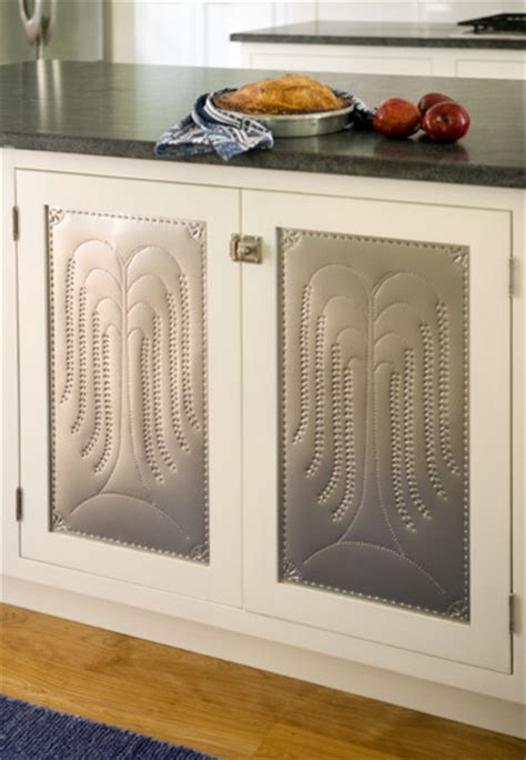Punched Tin Cabinet Panels by Punched Tin