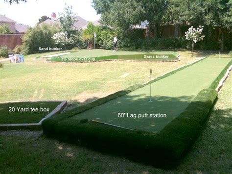 backyard golf practice pin by jennifer mcdonnell bardot on exterior home pinterest
