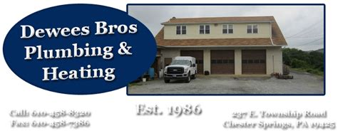 dewees bros plumbing heating home