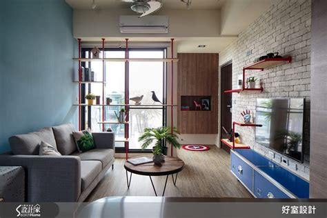 best home design blog 2015 訂製屬於戰鬥機師的飛翔國度 17坪北歐工業風宅 設計家 searchome