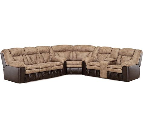 lane talon sectional lane talon 249 queen sized sleeper sectional s3net