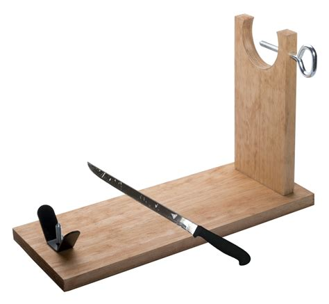 Ham Rack Stand by Ham Stand And Carving Knife Bench Jamonprive Ham Holder