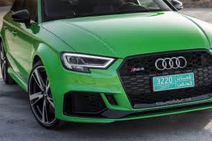 audi rs3 sedan review gtspirit