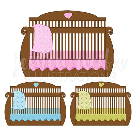 baby crib brown brown baby crib digital clipart baby bed clip