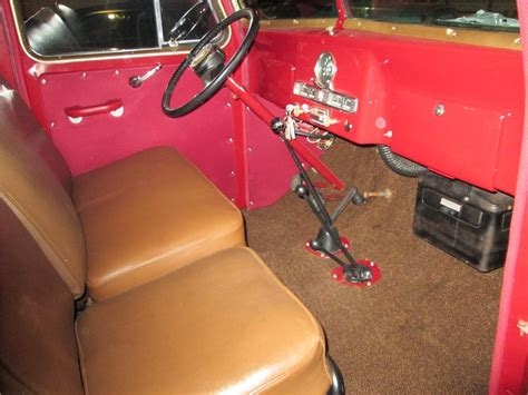 willys jeep truck interior 1956 willys jeep wagon 161832