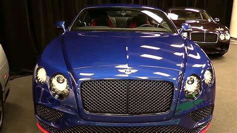 blue bentley 2017 2017 bentley continental gt speed blue edition walkaround