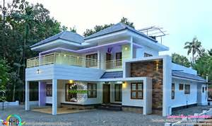 home design for 2017 finished home 2056 sq ft kerala home design and floor plans