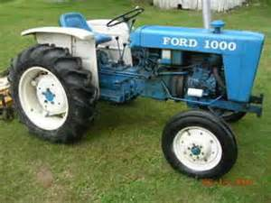 used farm tractors for sale ford 1000 with 60 in mower