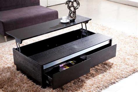 couchtisch höhenverstellbar schwarzer sofa tisch m 246 belideen
