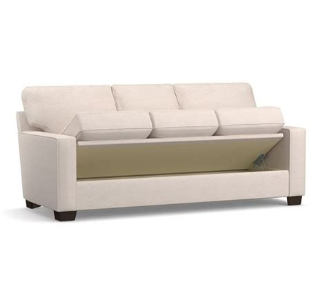 flip sofa buchanan square arm upholstered sofa with flip up storage