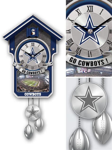 dallas cowboys home decor tick tock time for a new clock bradford exchange blog
