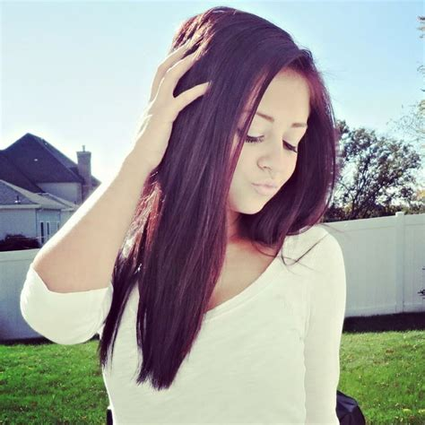 Hair With Purple Tint | pinterest the worlds catalog of ideas of dark hair color