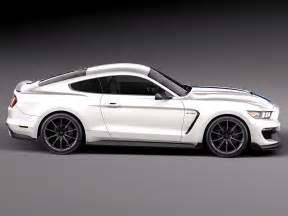 Ford 2016 Models Ford Mustang Gt350 Shelby 2016 3d Models Cgtrader