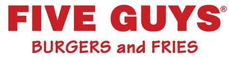 Five Guys You Would Get On With by Five Guys Logos