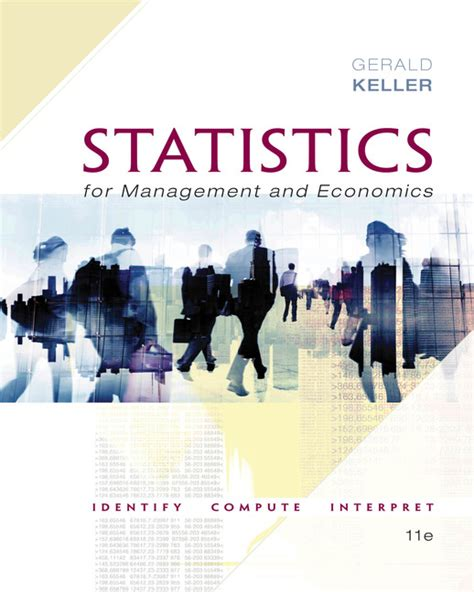 Statistics Principles Methods 6th Edition statistics for management and economics abbreviated 9781285869643 cengage