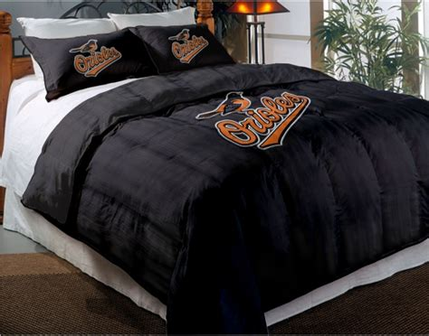 Orioles Bedroom Decor by Baltimore Orioles Mlb Chenille Embroidered Comforter