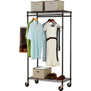 canopy heavy duty garment rack bronze walmart