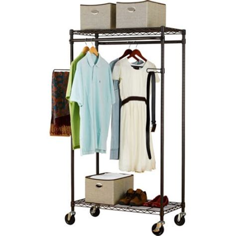 Walmart Closet Rack by Canopy Heavy Duty Garment Rack Bronze Walmart