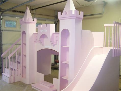 Castle Loft Bed by New Custom Princess Mickey Kailey S Castle Bunk Bed Quot Free