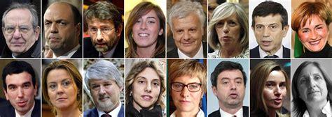 ministri dell interno italiani governo renzi le facce di tutti i 16 ministri foto