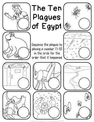 coloring pages ten plagues egypt the ten plagues of egypt worksheet pack children s