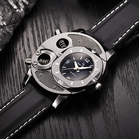 Jam Tangan Quartz Black jam tangan analog luxury quartz v8 black