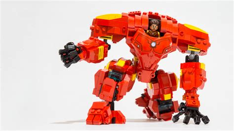 Sale Slingbag Printing Exo Set lego ideas iron hulkbuster mech suit