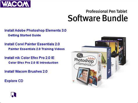 L Software Bundle by Wacom Intuos3 6x8 Software Bundle