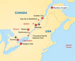 historic cities of eastern canada archers holidays