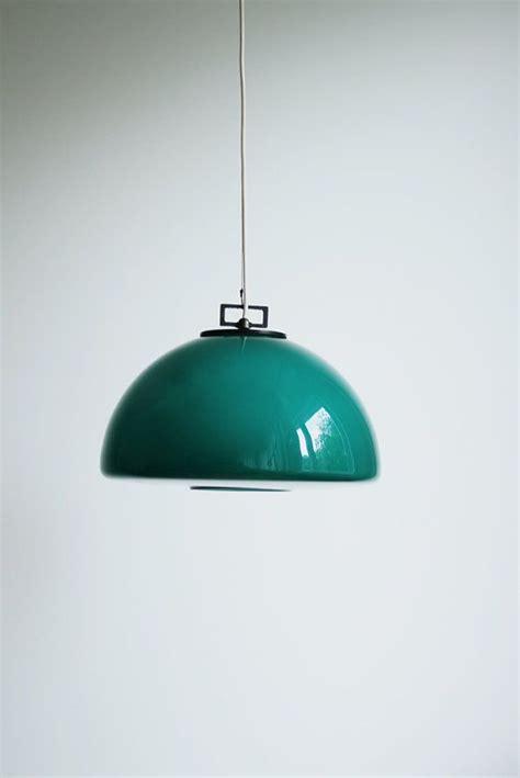 vintage teal pendant light