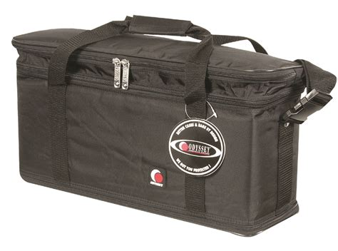 odyssey br308 high quality 3 space 8 quot rack bag br308
